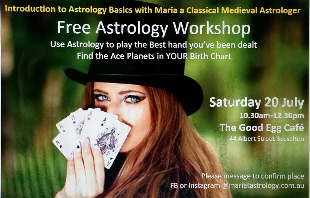 FREE Astrology Workshop